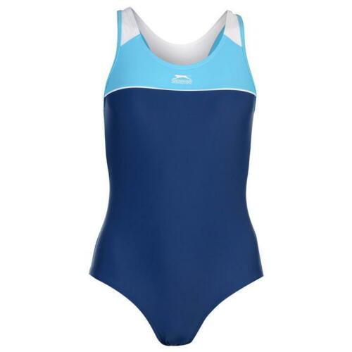Da donna Slazenger Racer Back swimsuit una pace Nuoto Costume da bagno
