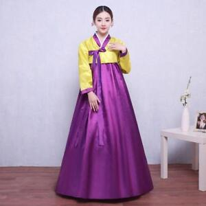 Image is loading Korean-Women-039-s-Hanbok-Ancient-Traditional-Dress- 9a41ca2f1974