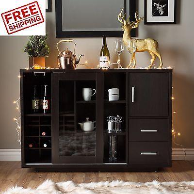 Sideboard Buffet Cabinet Wine Bar
