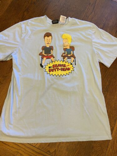 Beavis And Butthead MTV Graphic Shirt Sz L