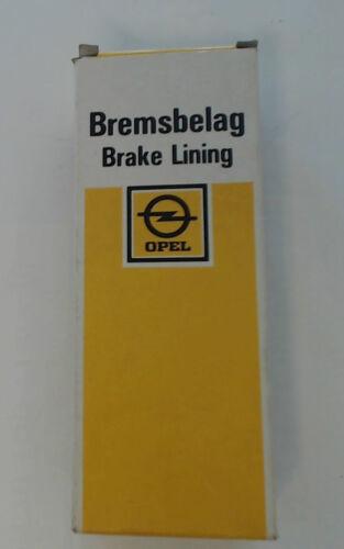 1985-1993 Trommelbremsbeläge hinten 1605733 ers.1605276 für Opel Kadett E Bj.