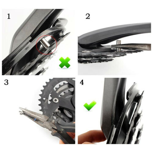 MTB Bicycle Bike Chain Wheel Crankset Cap Protection Cover Guard With 4 Screws