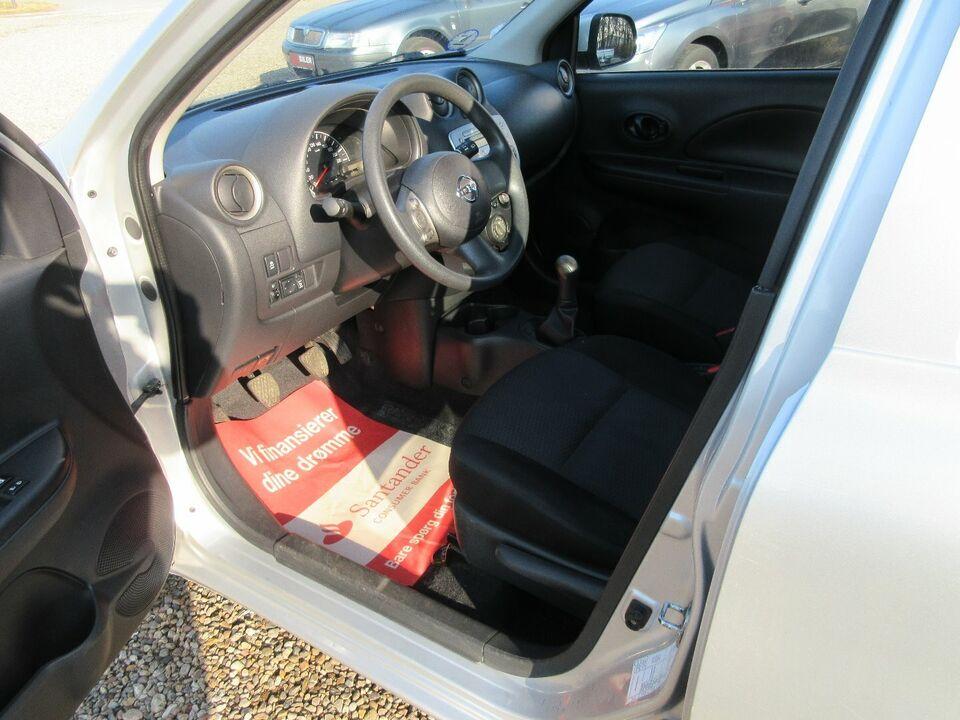 Nissan Micra 1,2 Acenta Benzin modelår 2011 km 199000 ABS