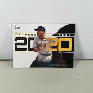 Rafael Devers Red Sox #DN18 #18 Decades Next Insert 2020 Topps Series 1 Baseball