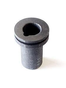 120 g Or pur Graphite Creuset 4 Or//Argent casting//raffinage 4-Oz