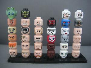 Lego-Star-Wars-Tetes-neuves-pour-figurines-references-au-choix