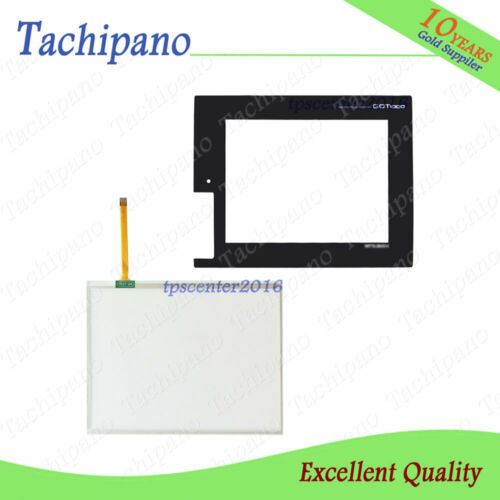 Details about  /New Touch screen for Mitsubishi GT1655-VTBD GT1655VTBD panel with front overlay