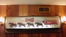Budweiser Clydesdale Bar Display