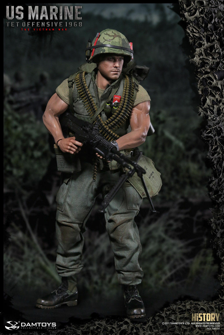 DAM TOYS DAMTOYS 1/6 Scala Vietnam US Marine OFFENSIVA DEL Têt 1968 78038