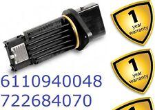 Mercedes A170 C200 C220 C270 CDi V Mass Air Flow MAF Meter 6110940048 722684000