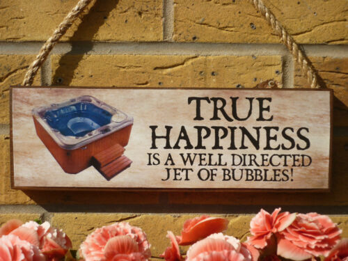 HANDMADE HOT TUB SIGN WOODEN SIGN GARDEN GIFTS PRESENTS FUNNY FUN YOUR OWN TEXT