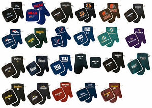 oven-mitt-pot-holder-set-bbq-tailgating-NFL-PICK-YOUR-TEAM-tailgate-barbecue