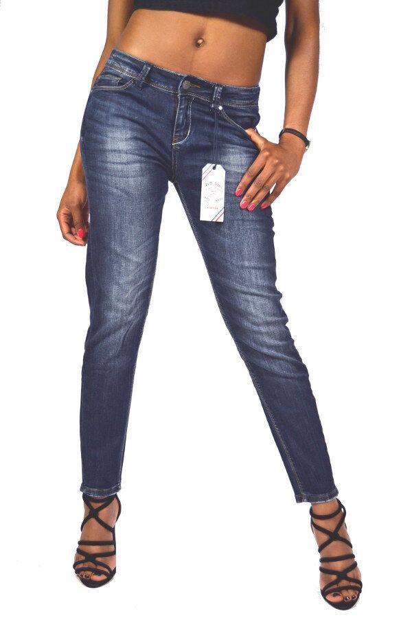 NEU  sehr coole rot SOUL Jeans JANEL Boyfriend Boy Fit Jeans - W26