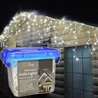 Transcontinental Group 120 LED Snowing Icicle Lights White