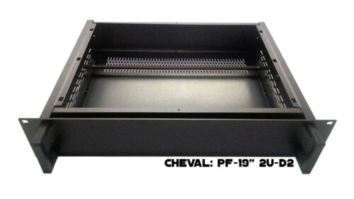 "Full Aluminum DIY multipurpose box electronic enclosure Rack mount 19/"" 2U-D2"