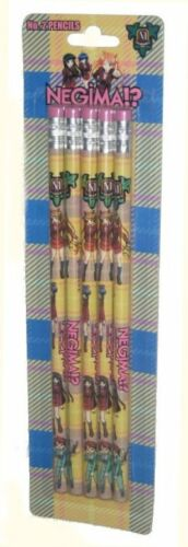 Negima Characters Anime Pencil Pack 23510 5 Pencils