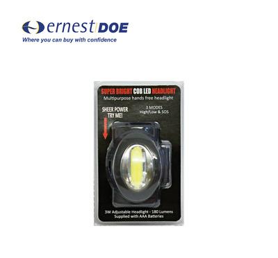 Clulite HL20 S//N Phare Super Bright COB DEL Phare HL20