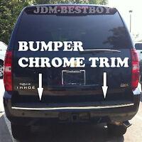 3 Meters (120) Chrome Front Rear Bumper Tailgate Molding Trim D.i.y. Diy