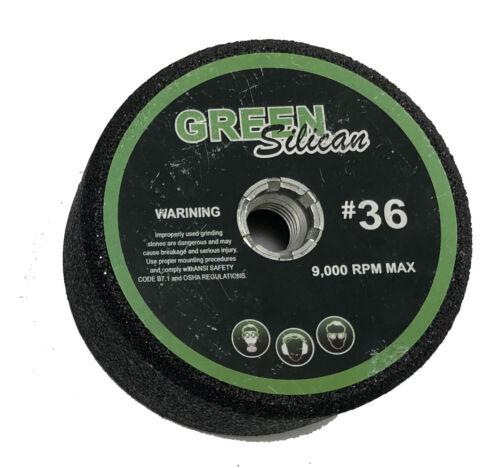 "4/""  Green silicon carbide grinding stones box of 10"
