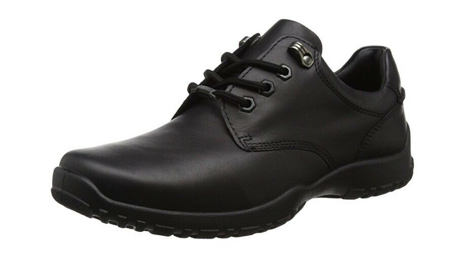 Homme Hotter Noir Venture Chaussures UK 7