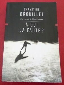 Soft-Cover-French-Book-A-Qui-la-Faute-Une-Enquete-de-Maud-Graham