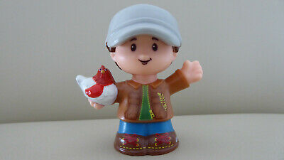 AnpassungsfäHig Fisher Price Little People Bauer Figur Farmer Figure. Neu New
