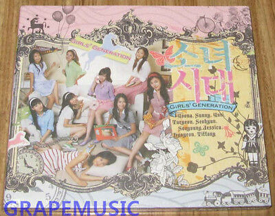 GIRLS' GENERATION SNSD Into The New World FIRST SINGLE K-POP CD SEALED