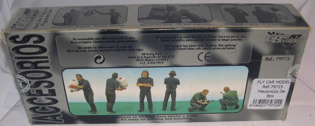 FLY 79715 SLOT FIGURES LEAD MECHANICS OF BOX LTED. ED MB
