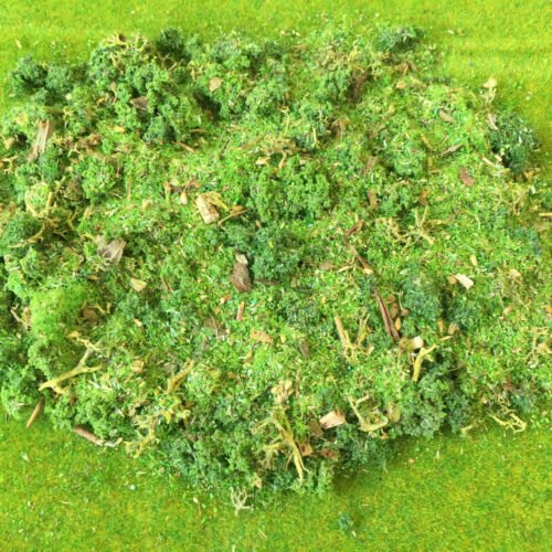 Spring Copse Model Green Scatter Foliage Grass tree forest Landscape Texture