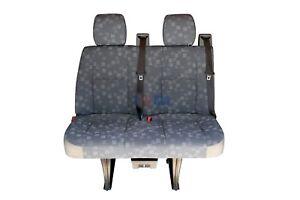 2006 Dodge Sprinter 2nd Row 2 Passenger Bench Seat In Gray