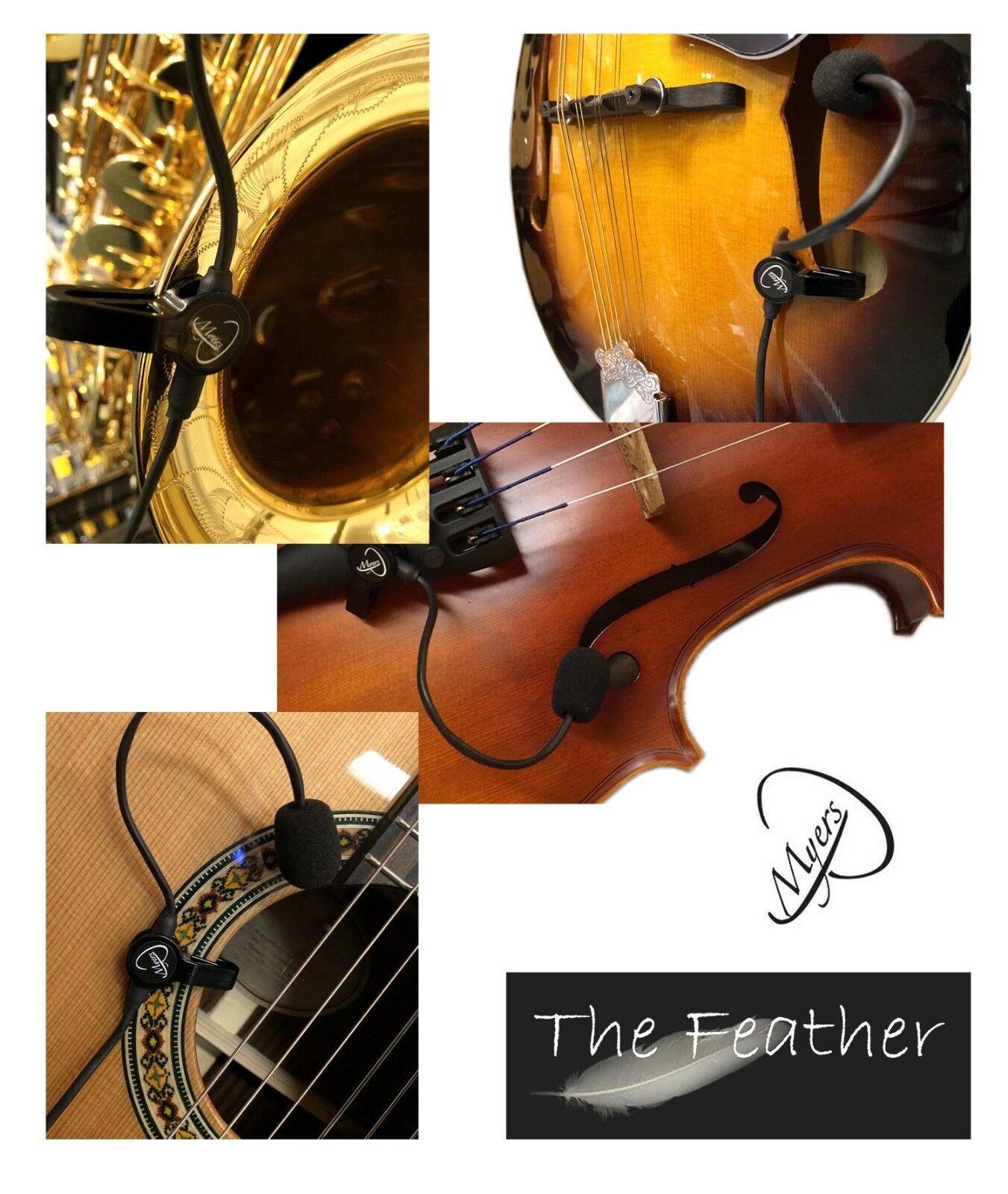 Micrófono Curtal  la pluma pluma pluma - 2  sistema de micrófono por Pastillas Myers 4dc469