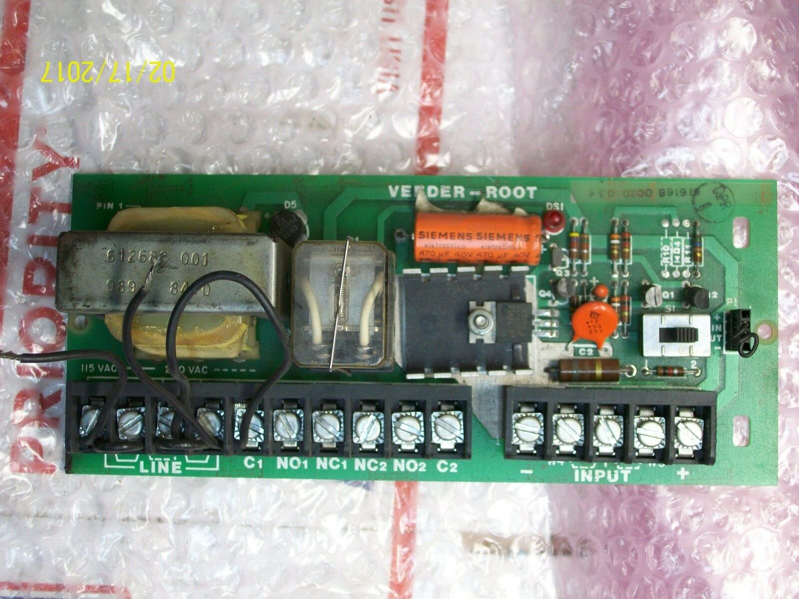 VEEDER ROOT CIRCUIT BOARD 612668-001