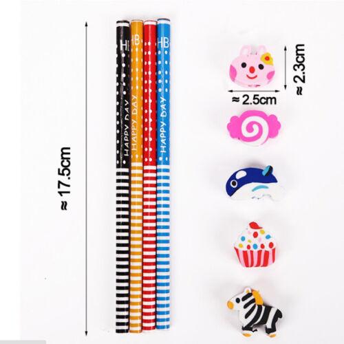 10pezzi //set matite animali casuali Matita di cancelleria per matite per·bambini