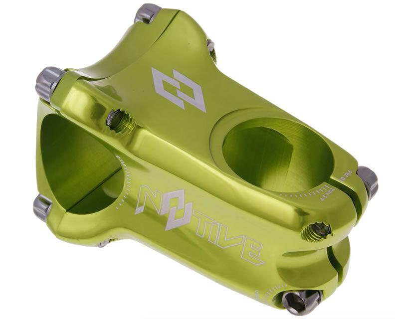 MTB n 8 tive  verde Enduro vástago 31.8mm forjado en frío Ext 50mm 0 ° de ángulo 1st Edición  costo real