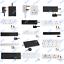 UK-Mains-Extension-Lead-Cables-1-2-3-4-6-8-10-Gang-50cm-20m-Plug-Black-White thumbnail 1