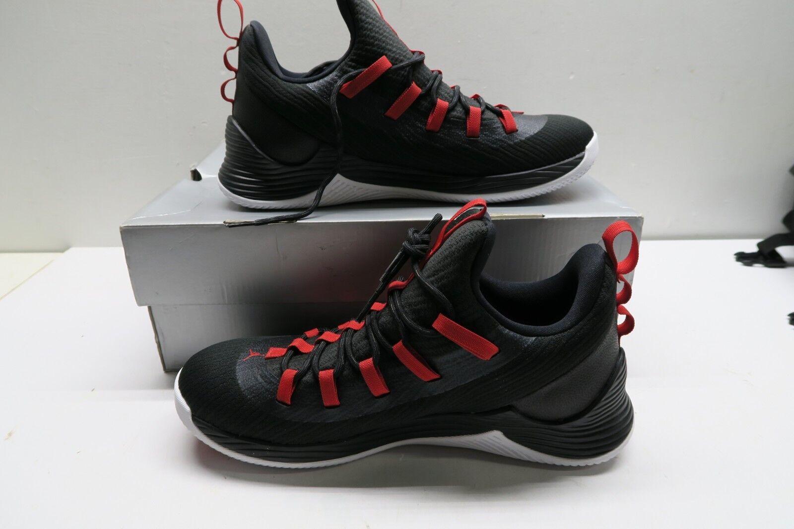 NIKE Jordan Ultra Fly 2 Low Mens Size 9 - Black & Red