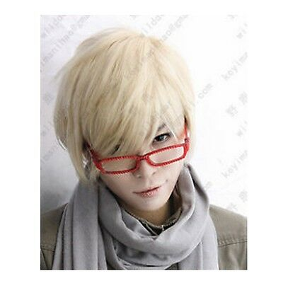 Fashion Light Blonde Wig Hair New Short Cosplay Party Wig