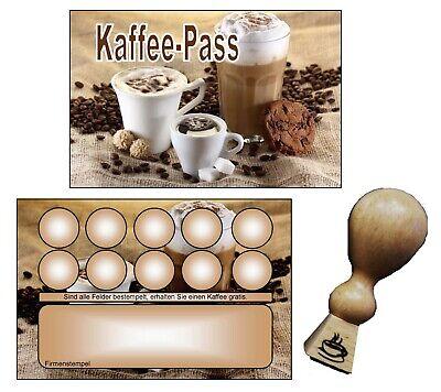 350 Bonuskarten Treuekarten Kaffee Pass Café Rabattkarten Bonuskartenstempel  #4