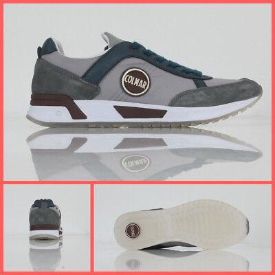 COLMAR ORIGINALS scarpe uomo TRAVIS ORIGINALS 001 col.GRIGIOBLU inverno 2018   eBay