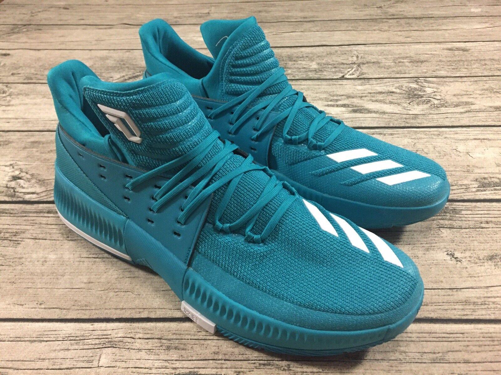 Adidas D Lillard 3 Basketball shoes Mens Size 16
