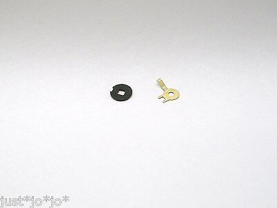 2x Tri-ang Hornby washers S.3374 contact S.3282 insulating  MINT