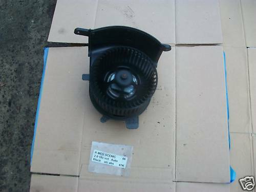 Renault Scenic//Grand Scenic 2003-2009 Calentador Ventilador del motor del ventilador