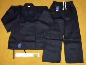 Neuer-Kung-Fu-Anzug-schwarz-Groesse-waehlbar-Mod-1
