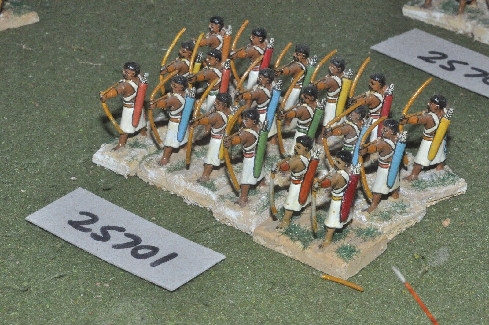 25mm classical   indian - archers 18 figures - inf (25701)