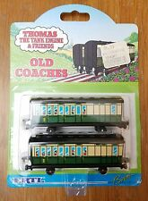 THOMAS THE TRAIN TANK ENGINE & FRIENDS ERTL OLD COACHES 1993 NEW VINTAGE