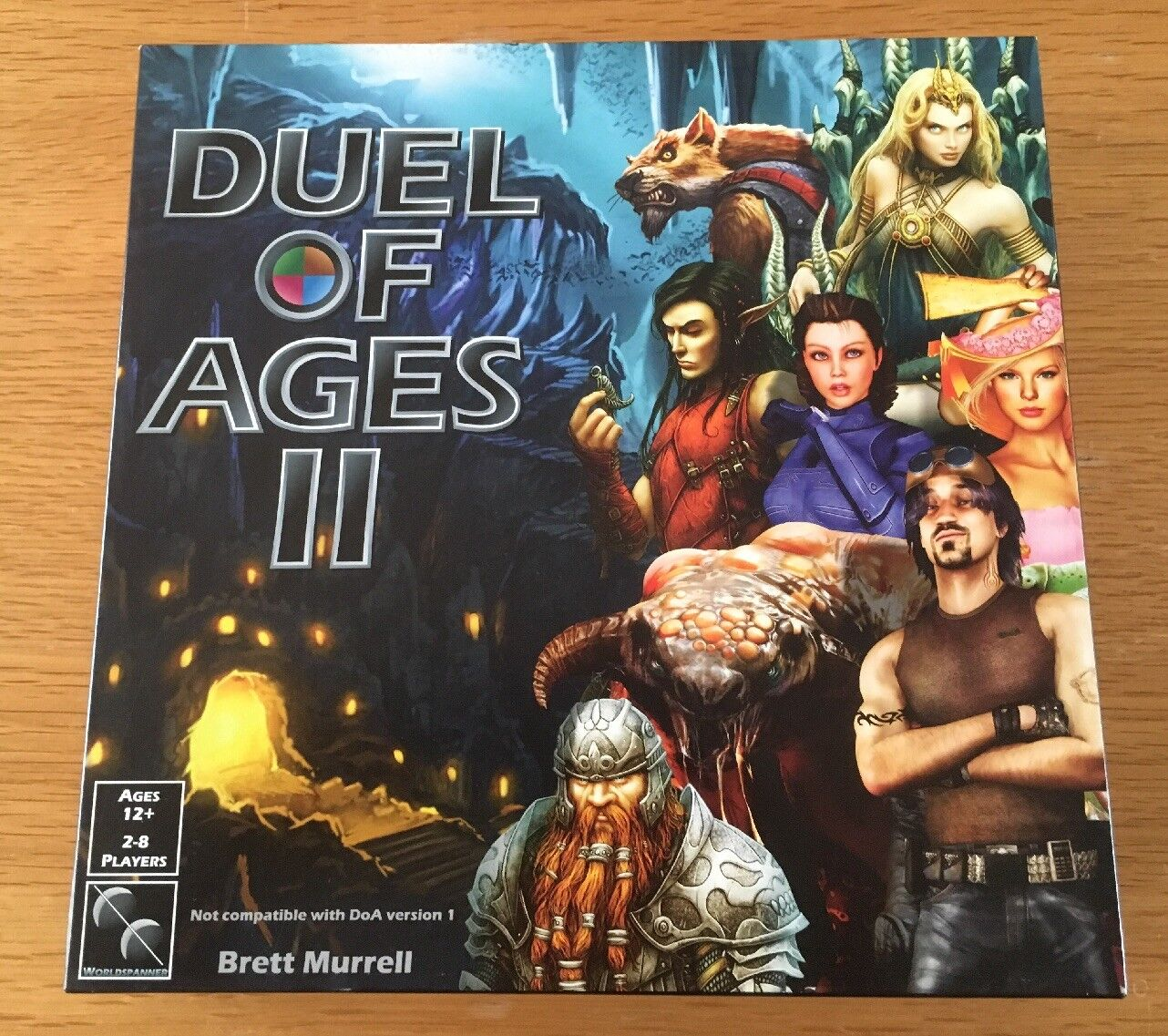 Dual Of Ages II RPG Board Game Boxed Set RARE