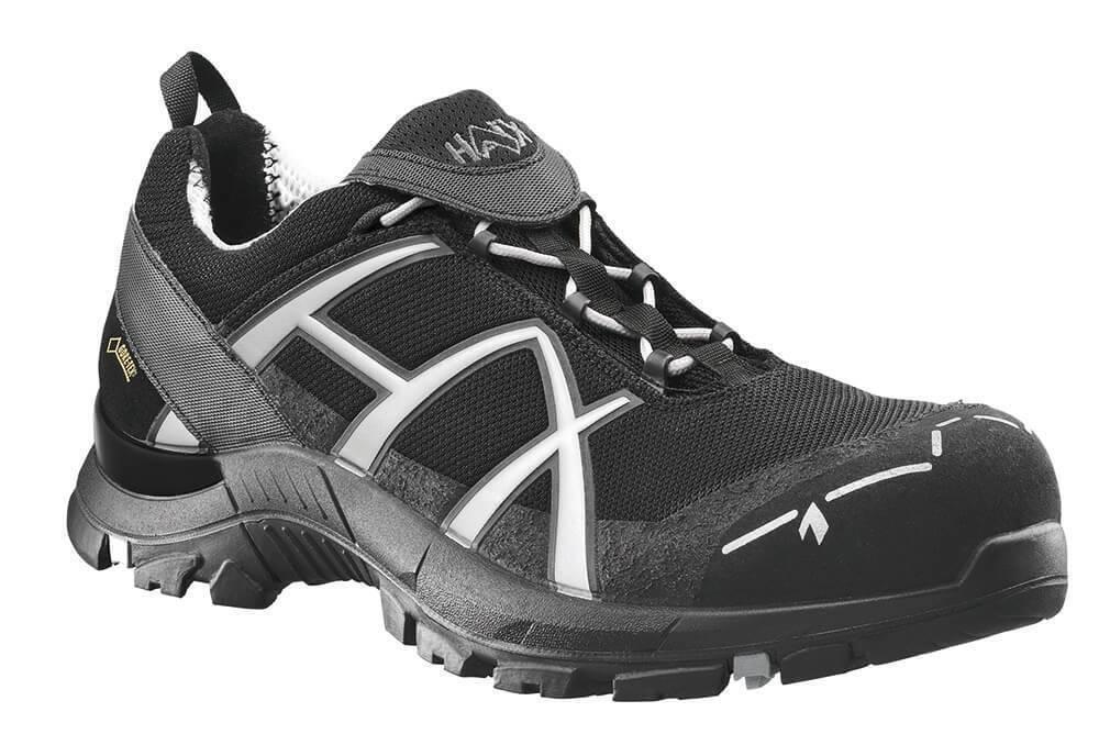 HAIX Arbeitsstiefel S1P schwarz EAGLE Safety 41 low schwarz Silber    | Günstige Preise