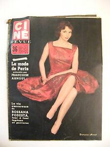 Cine-Revue-N-1-Janvier-1956-Francoise-Arnoul-Rossana-Podesta