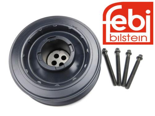 ORIG Febi-Bilstein polea bmw m57 diesel incl tornillos e60 e90 e46