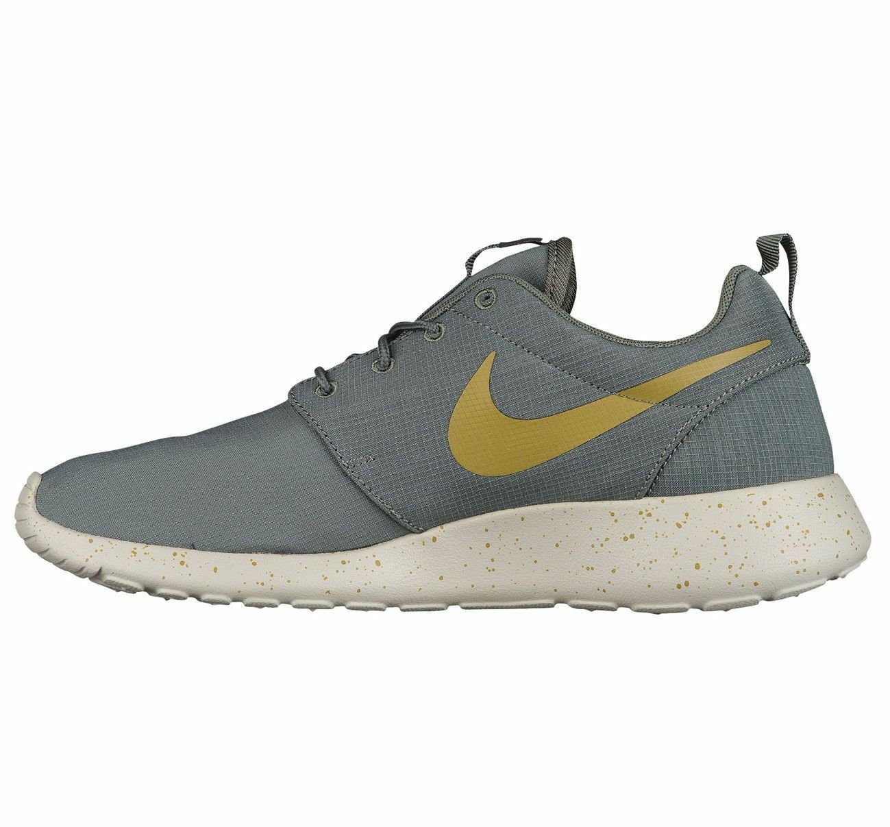 Nike Roshe One SE Mens 844687-008 River Rock Desert Moss Running Shoes Size 12